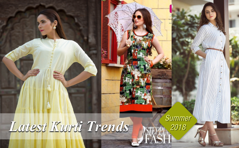 63f879347 Latest Wholesale Kurtis Trends for Summer 2018 – WholesaleBox